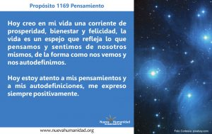 Propósito 1169 Pensamiento