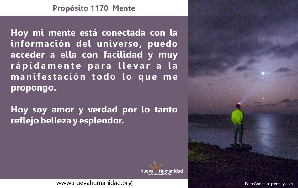 Propósito 1170 Mente