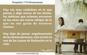 Propósito 1174 Pensamiento