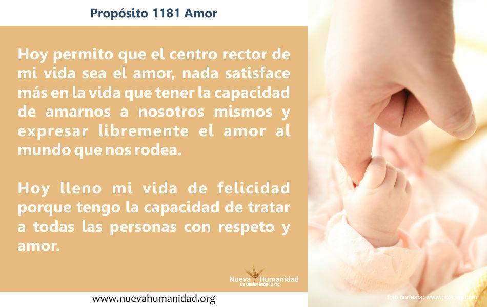 Propósito 1181 Amor