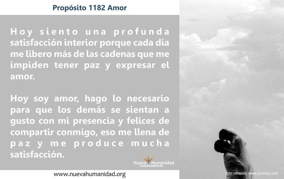 Propósito 1182 Amor