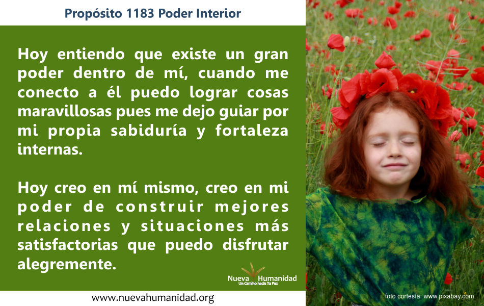 Propósito 1183 Poder interior