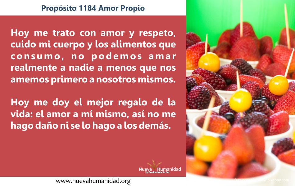 Propósito 1184 Amor propio