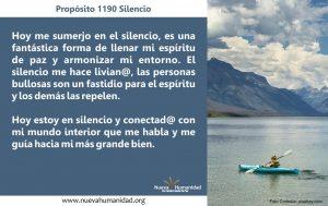 Propósito 1190 Silencio
