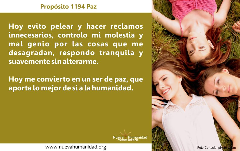 Propósito 1194 Paz
