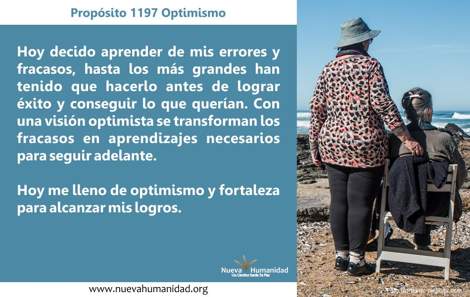 Propósito 1197 Optimismo