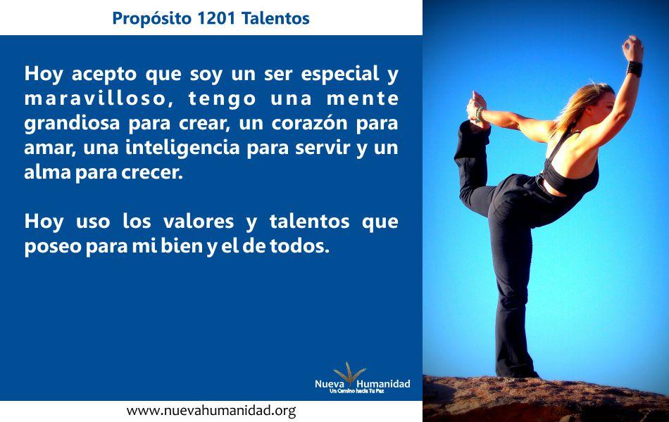 Propósito 1201 Talentos
