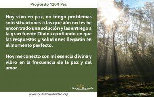 Propósito 1204 Paz