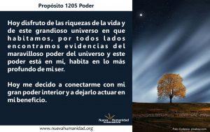 Propósito 1205 Poder