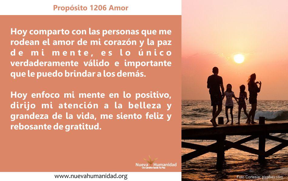 Propósito 1206 Amor