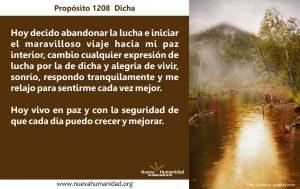 Propósito 1208 Dicha