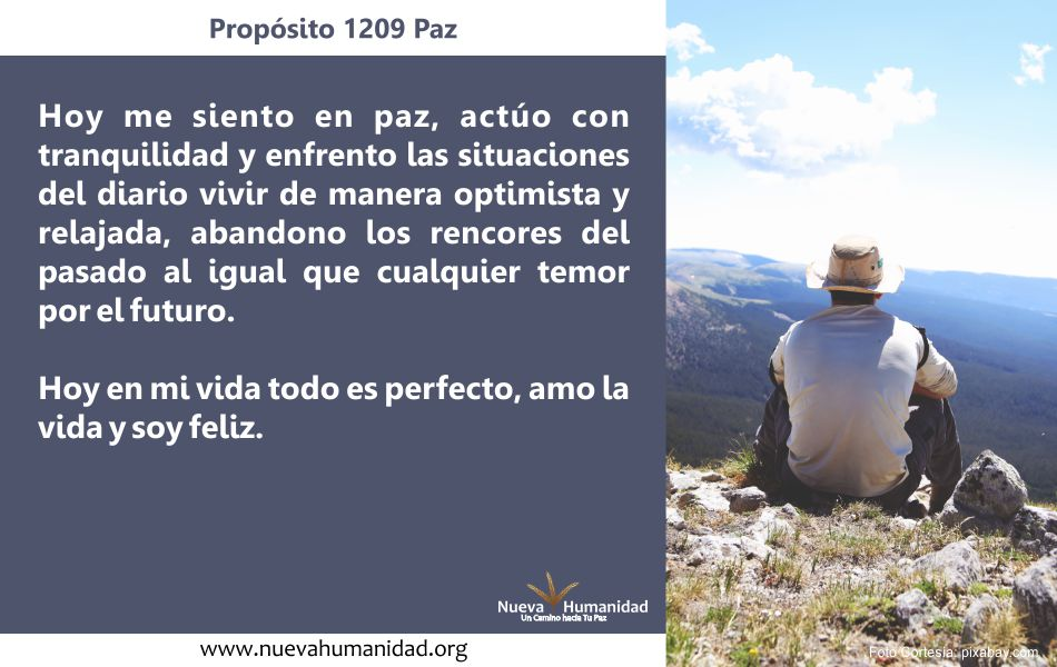 Propósito 1209 Paz