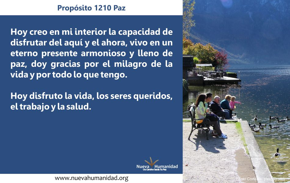 Propósito 1210 Paz