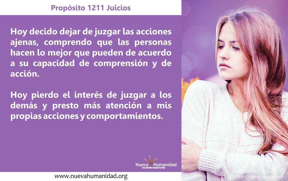 Propósito 1211 Juicios