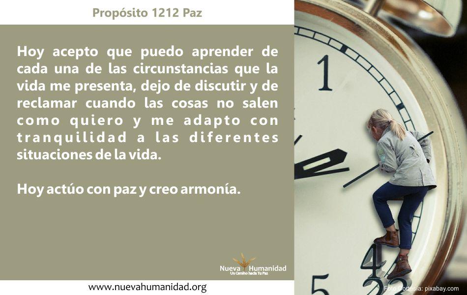 Propósito 1212 Paz