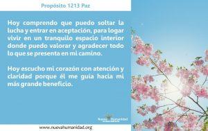 Propósito 1213 Paz