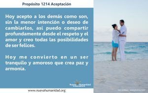 Propósito 1214 Aceptación