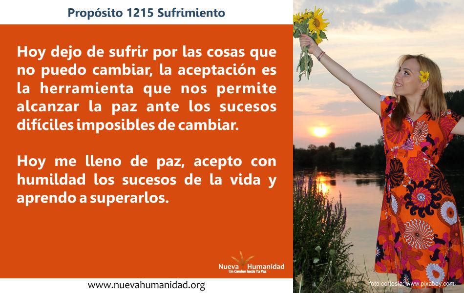 Propósito 1215 Sufrimiento