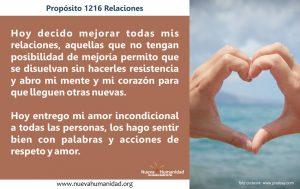 Propósito 1216 Relaciones