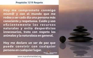 Propósito 1219 Respeto