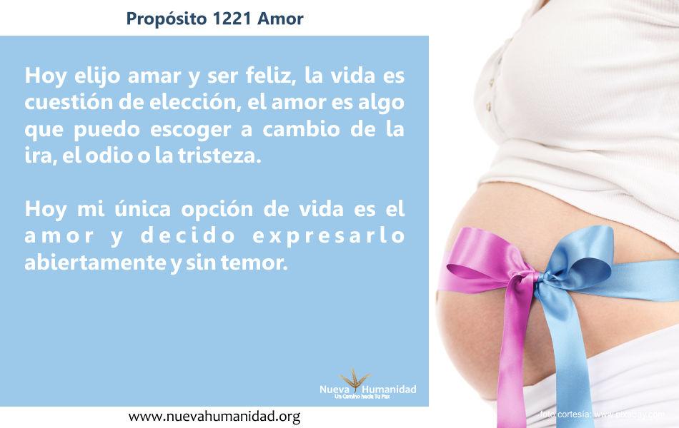 Propósito 1221 Amor