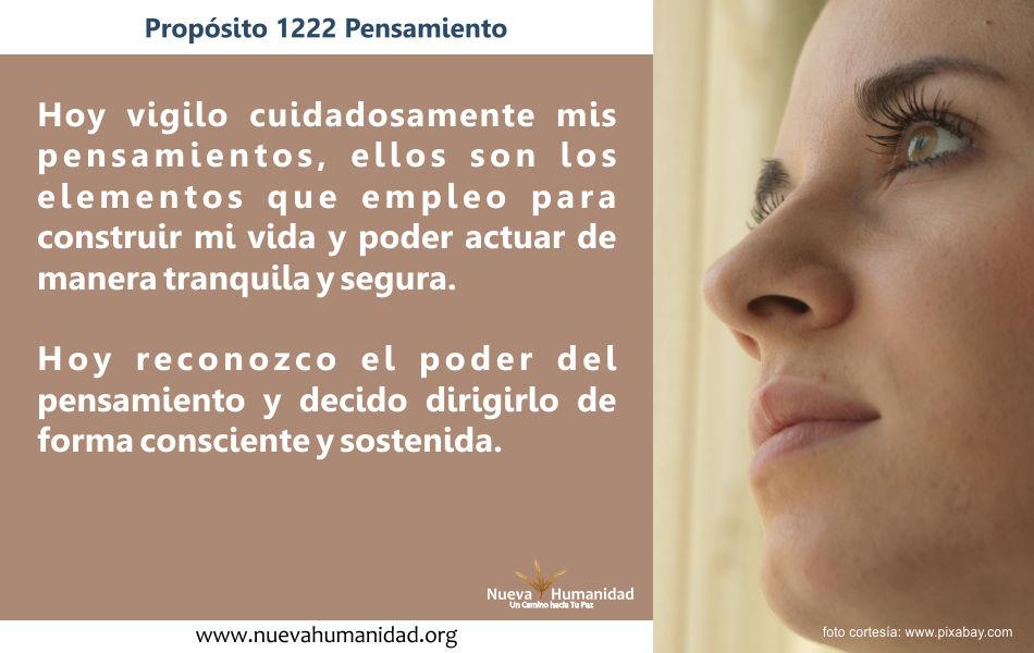 Propósito 1222 Pensamiento