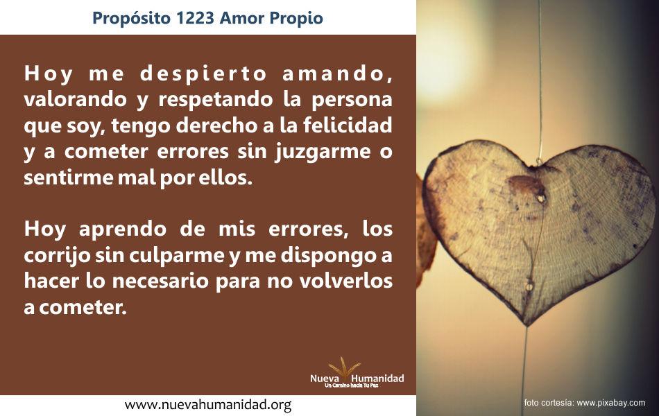Propósito 1223 Amor propio