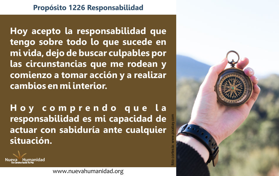 Propósito 1226 Responsabilidad