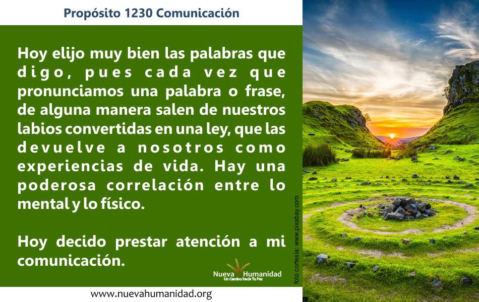 Propósito 1230 Comunicación