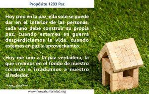 Propósito 1233 Paz