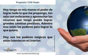 Propósito 1236 Poder
