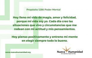 Propósito 1286 Poder mental