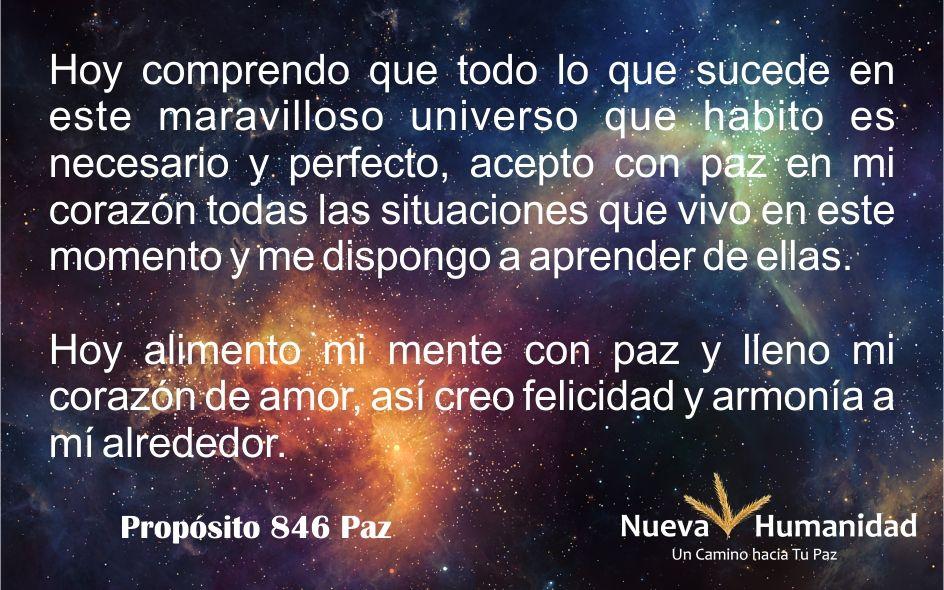 Propósito 846 Paz