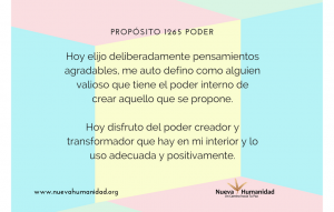 Propósito 1265 Poder