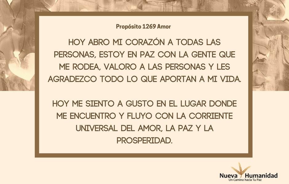 Propósito 1269 Amor