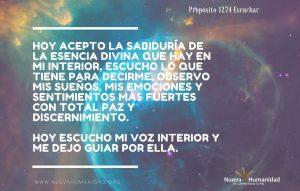 Propósito 1274 Escuchar