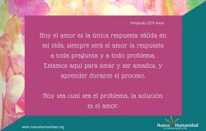 Propósito 1275 Amor