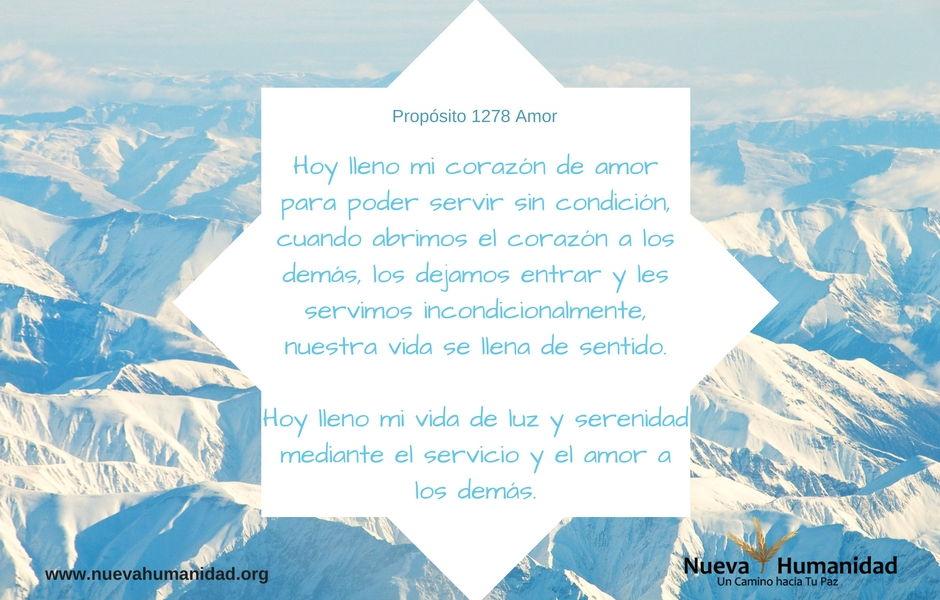 Propósito 1278 Amor