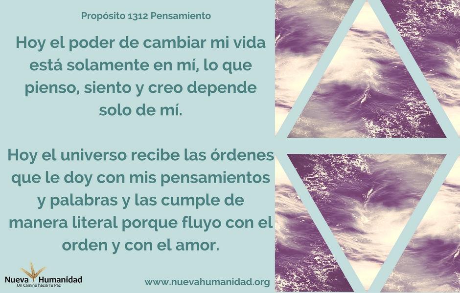 Propósito 1312 Pensamiento