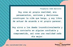 Propósito 1322 Servicio