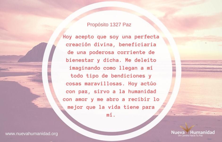Propósito 1327 Paz