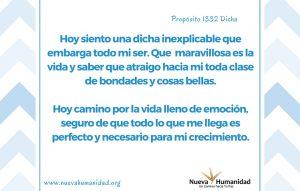 Propósito 1332 Dicha