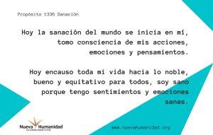 Propósito 1336 Sanación