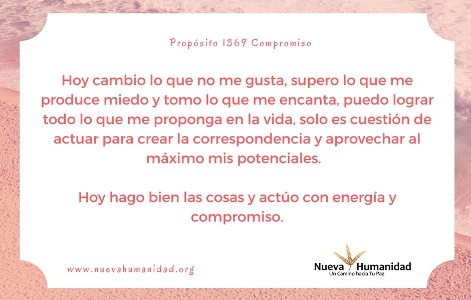 Propósito 1369 Compromiso