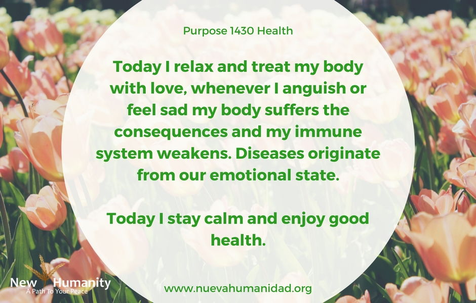 Nueva Humanidad Purpose 1430 Health