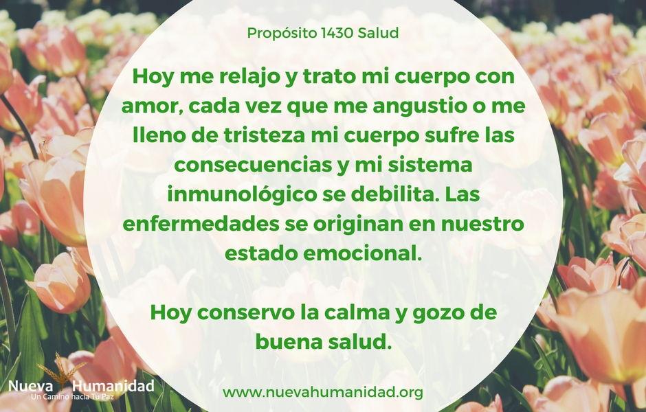 Propósito 1430 Salud