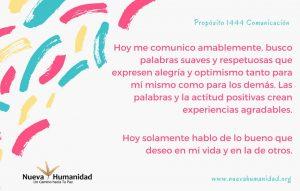 Propósito 1444 Comunicación
