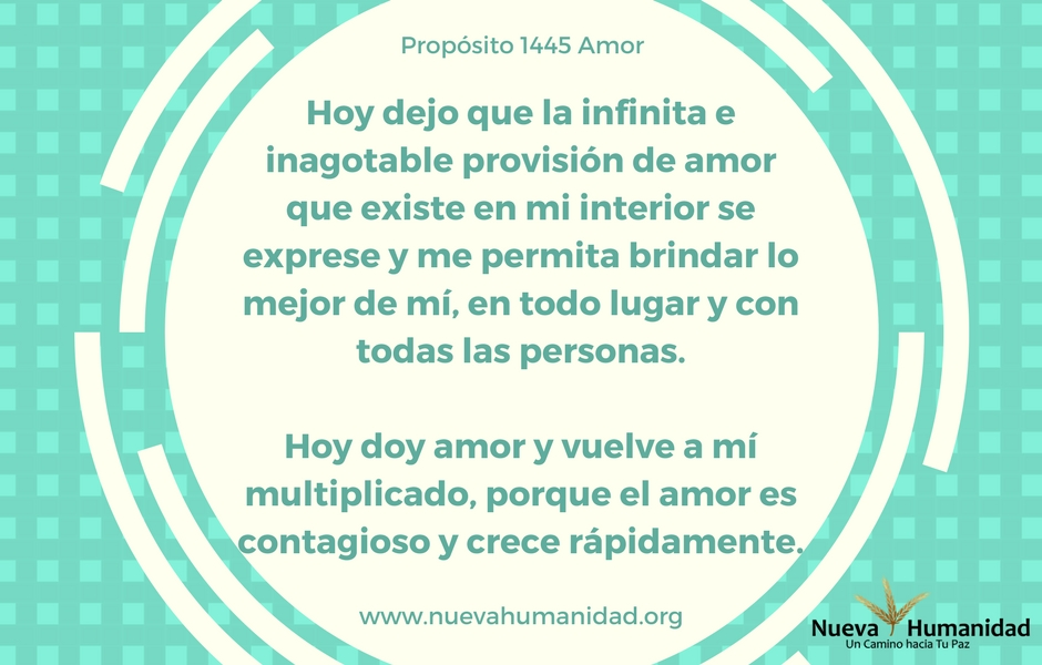 Propósito 1445 Amor