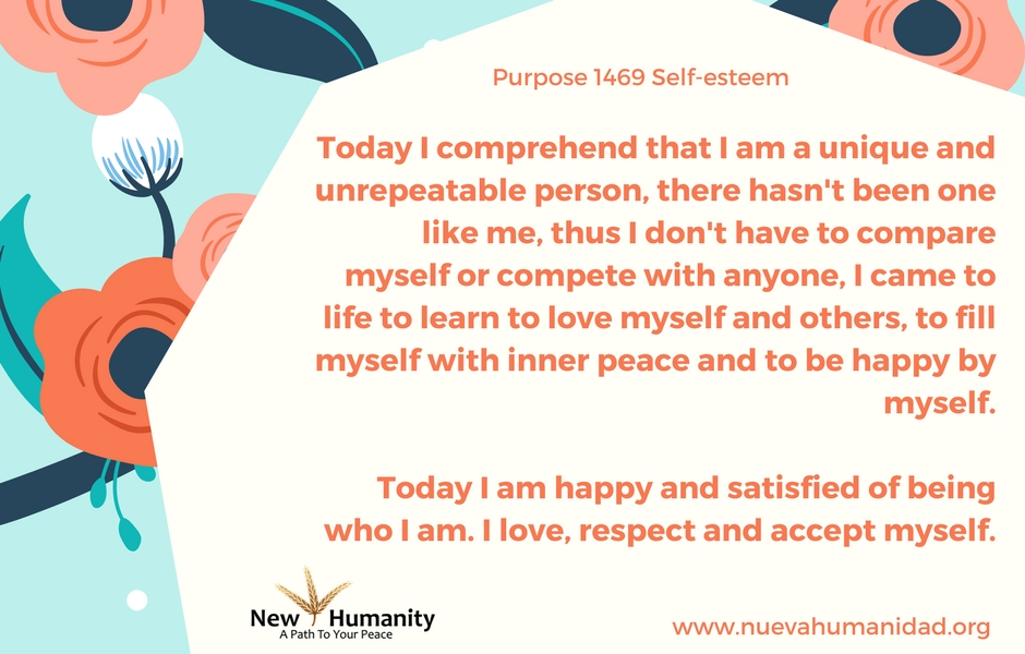 Nueva Humanidad - Purpose 1469 Self Esteem
