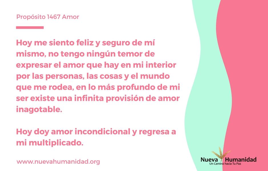 Propósito 1467 Amor